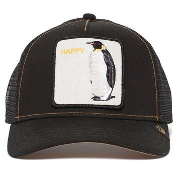 Cappellino trucker nero pinguino Waddler di Goorin Bros.