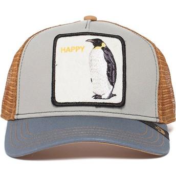 Cappellino trucker grigio pinguino Waddler di Goorin Bros.
