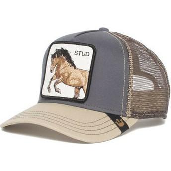 Cappellino trucker grigio cavallo You Stud di Goorin Bros.