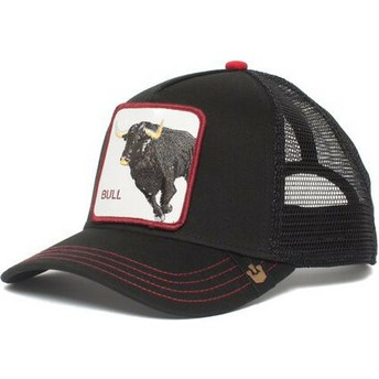 Cappellino trucker nero toro Bull Honky di Goorin Bros.