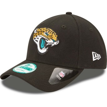 Cappellino visiera curva nero regolabile 9FORTY The League di Jacksonville Jaguars NFL di New Era