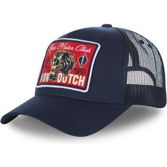 Cappellino trucker blu marino FAMOUS2 di Von Dutch