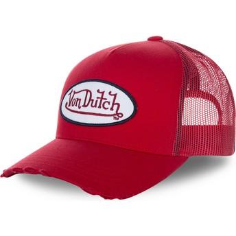 Cappellino trucker rosso FRESH01 di Von Dutch