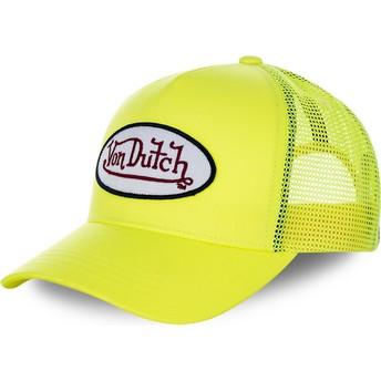Cappellino trucker giallo FRESH05 di Von Dutch