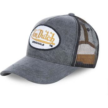 Cappellino trucker grigio OGJ di Von Dutch