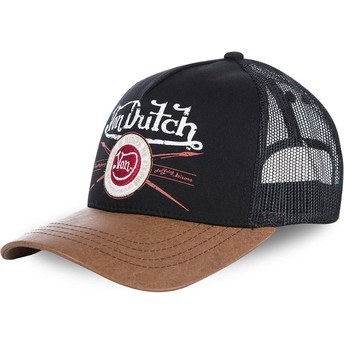 Cappellino trucker nero e marrone PIN di Von Dutch