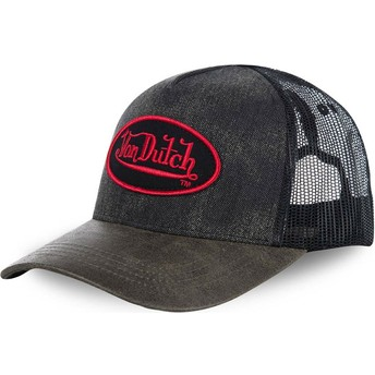 Cappellino trucker nero ROB di Von Dutch