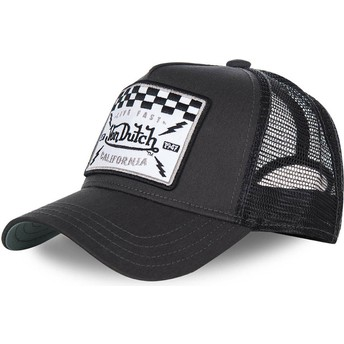 Cappellino trucker nero SQUARE8B di Von Dutch