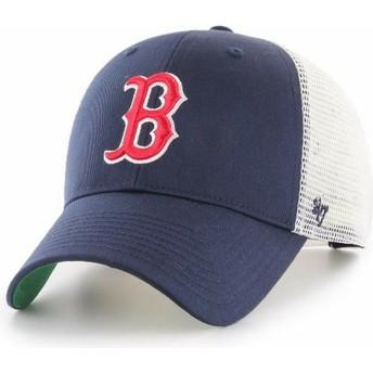Cappellino trucker blu marino di Boston Red Sox MLB MVP Branson di 47 Brand