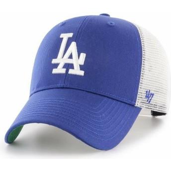 Cappellino trucker blu di Los Angeles Dodgers MLB MVP Branson di 47 Brand