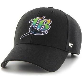 Cappellino visiera curva nero di Tampa Bay Rays MLB MVP di 47 Brand
