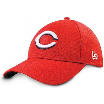 Cappellino visiera curva rosso regolabile 9FORTY The League di Cincinnati Reds MLB di New Era
