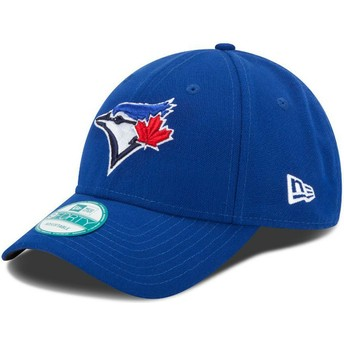 Cappellino visiera curva blu regolabile 9FORTY The League di Toronto Blue Jays MLB di New Era