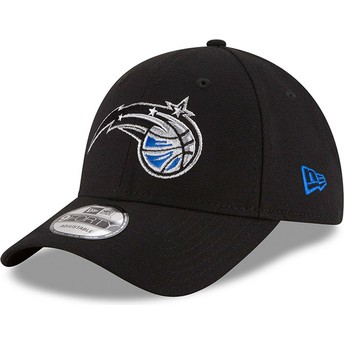 Cappellino visiera curva nero regolabile 9FORTY The League di Orlando Magic NBA di New Era