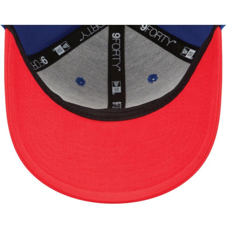 NFL Buffalo Bills Era la lega New 9 FORTY Cappello Regolabile Headwear