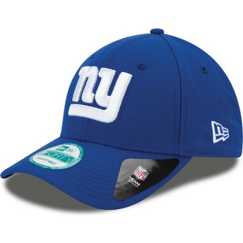 Cappellino visiera curva blu regolabile 9FORTY The League di New York Giants NFL di New Era