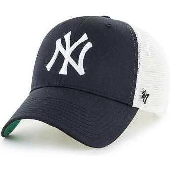 Cappellino trucker nero per bambino di New York Yankees MLB MVP Branson di 47 Brand