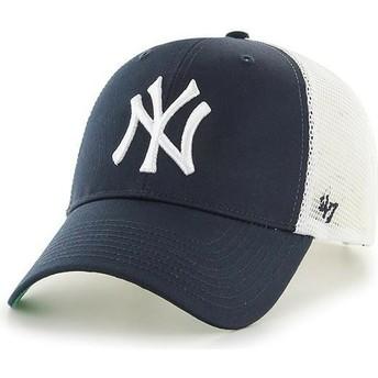 Cappellino trucker blu marino per bambino di New York Yankees MLB MVP Branson di 47 Brand