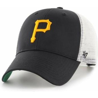 Cappellino trucker nero di Pittsburgh Pirates MLB MVP Branson di 47 Brand