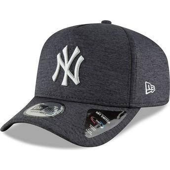 Cappellino visiera curva nero snapback 9FORTY Dry Switch A Frame di New York Yankees MLB di New Era