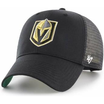 Cappellino trucker nero di Vegas Golden Knights NHL MVP Branson di 47 Brand