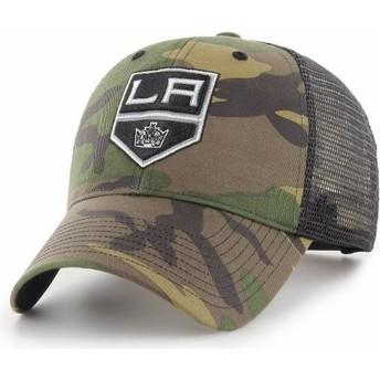 Cappellino trucker mimetico di Los Angeles Kings NHL MVP Branson di 47 Brand