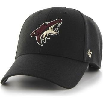 Cappellino visiera curva nero di Arizona Coyotes NHL MVP di 47 Brand
