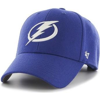 Cappellino visiera curva blu di Tampa Bay Lightning NHL MVP di 47 Brand