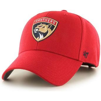 Cappellino visiera curva rosso di Florida Panthers NHL MVP di 47 Brand