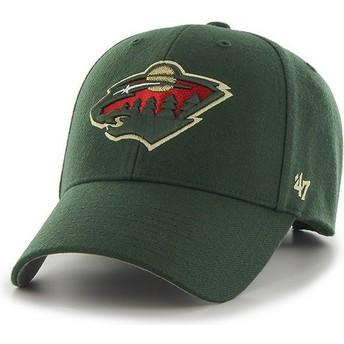 Cappellino visiera curva verde di Minnesota Wild NHL MVP di 47 Brand