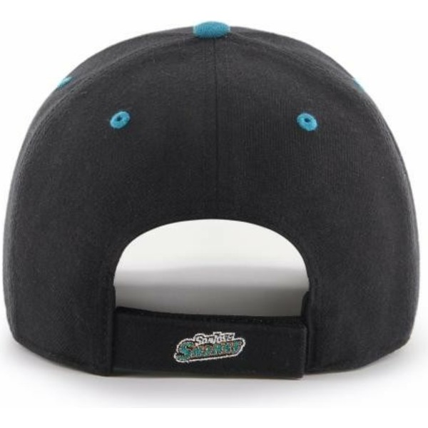 cappellino-visiera-curva-nero-di-san-jose-sharks-nhl-mvp-dp-audible-di-47-brand