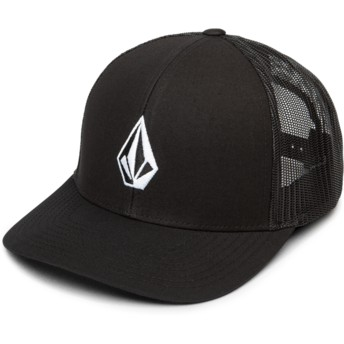 Cappellino trucker nero Full Stone Cheese New Black di Volcom