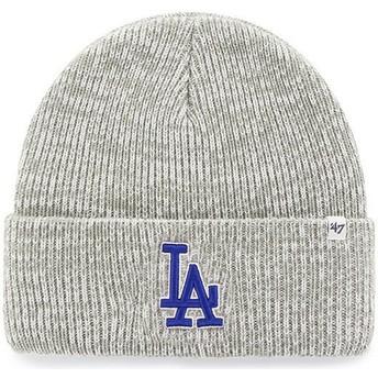 Berretto grigio di Los Angeles Dodgers MLB Cuff Knit Brain Freeze di 47 Brand