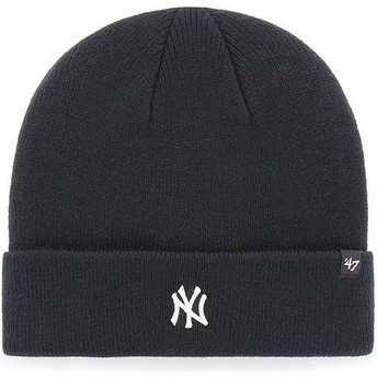 Berretto blu marino di New York Yankees MLB Cuff Knit Centerfield di 47 Brand