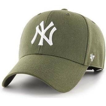 Cappellino visiera curva marrone di New York Yankees MLB MVP di 47 Brand