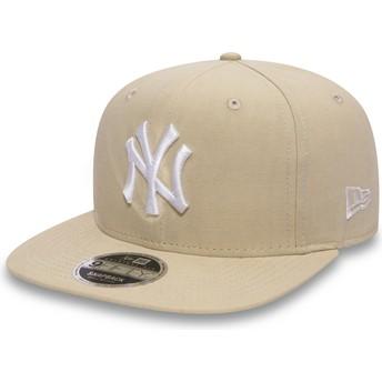 Cappellino visiera piatta rosa snapback 9FIFTY Lightweight Essential di New York Yankees MLB di New Era