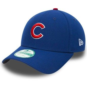Cappellino visiera curva nero regolabile 9FORTY The League di Chicago Cubs MLB di New Era