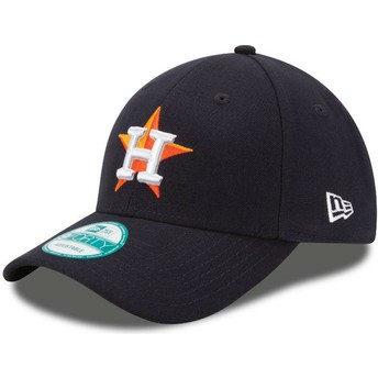 Cappellino visiera curva nero regolabile 9FORTY The League di Houston Astros MLB di New Era