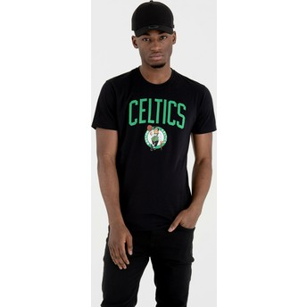 Maglietta maniche corte nera de Boston Celtics NBA de New Era