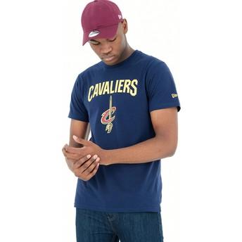 Maglietta maniche corte blu de Cleveland Cavaliers NBA de New Era