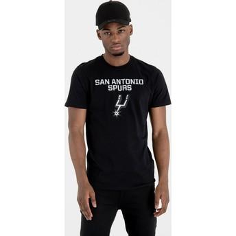 Maglietta maniche corte nera de San Antonio Spurs NBA de New Era