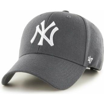 Cappellino visiera curva grigio scuro di New York Yankees MLB MVP di 47 Brand