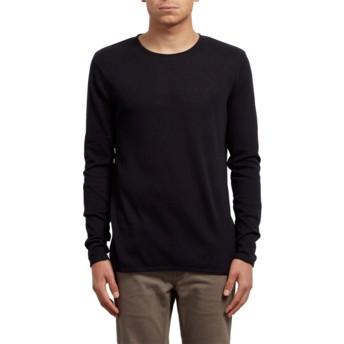 Maglione nero Harweird Black di Volcom
