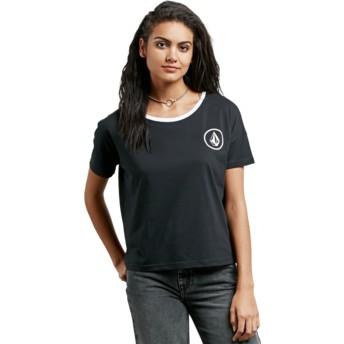 Maglietta maniche corte nera Simply Stoned Black de Volcom