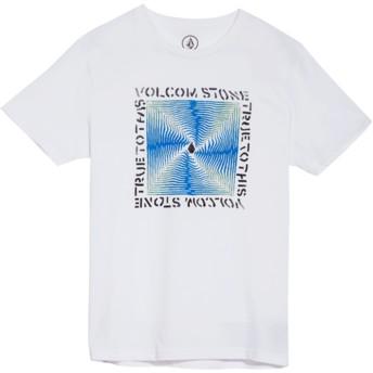 Maglietta maniche corte bianca per bambino Stoneradiator White de Volcom