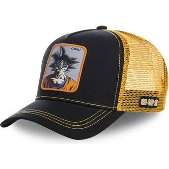 Cappellino trucker nero e arancione Son Goku GOKB Dragon Ball di Capslab