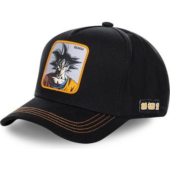 Cappellino visiera curva nero snapback Son Goku GOKC Dragon Ball di Capslab