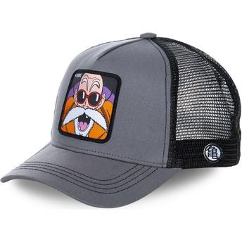 Cappellino trucker grigio Master Roshi KAM Dragon Ball di Capslab