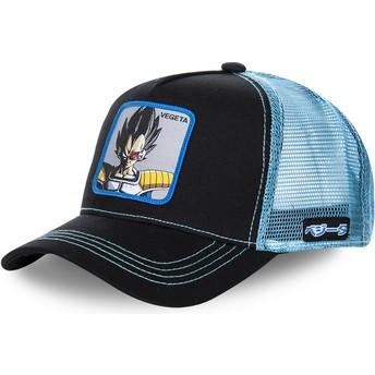 Cappellino trucker nero e blu Vegeta VEGB Dragon Ball di Capslab