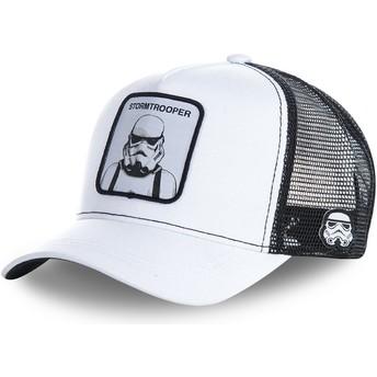 Cappellino trucker bianco Stormtrooper WA Star Wars di Capslab